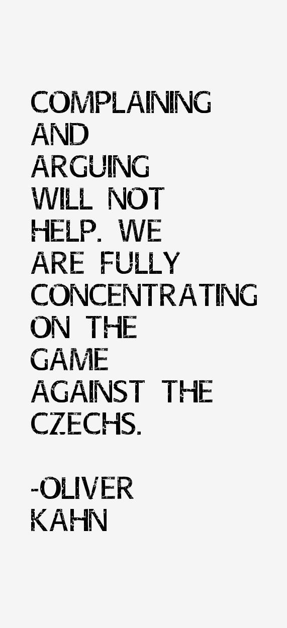 Oliver Kahn Quotes