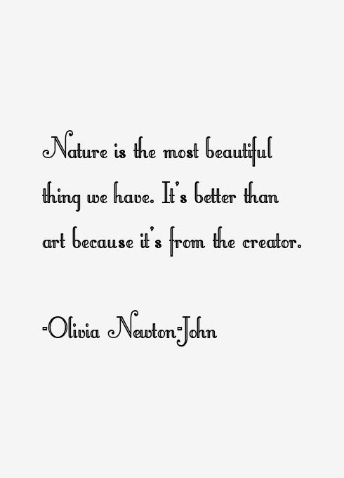 Olivia Newton-John Quotes
