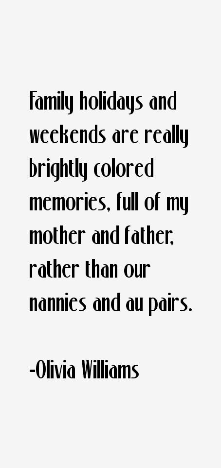 Olivia Williams Quotes
