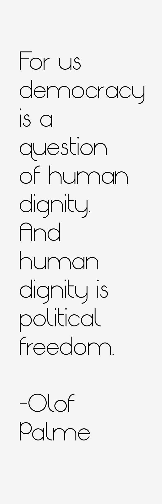 Olof Palme Quotes