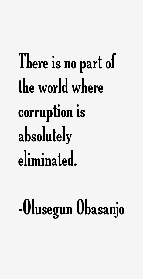 Olusegun Obasanjo Quotes