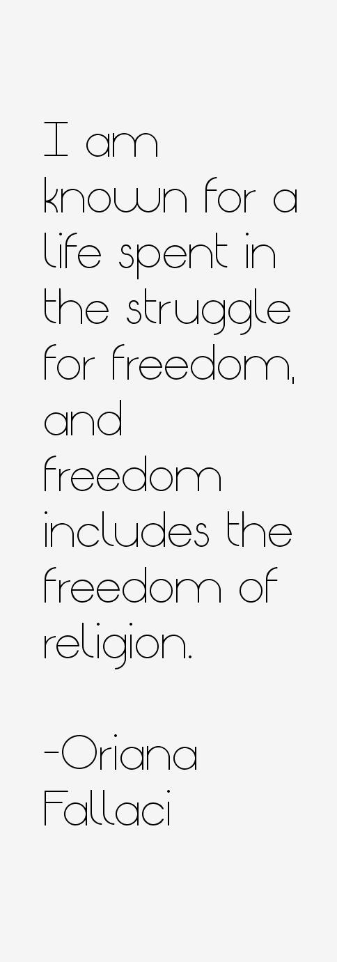 Oriana Fallaci Quotes