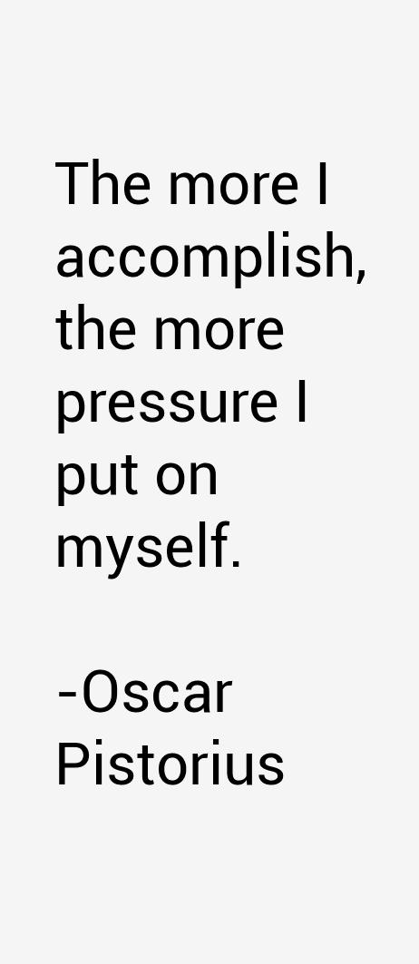 Oscar Pistorius Quotes