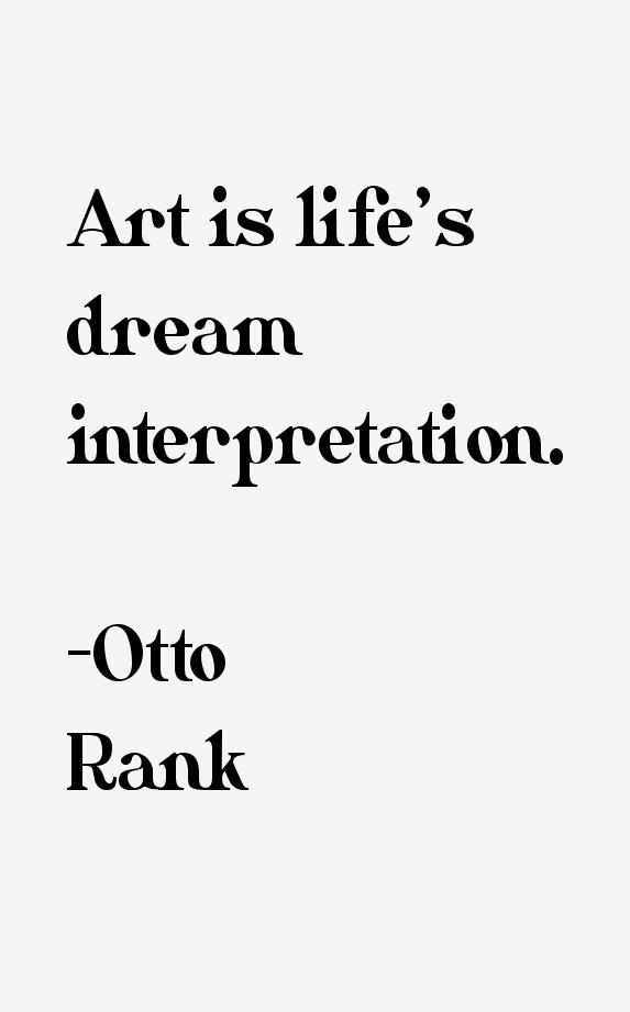 Otto Rank Quotes