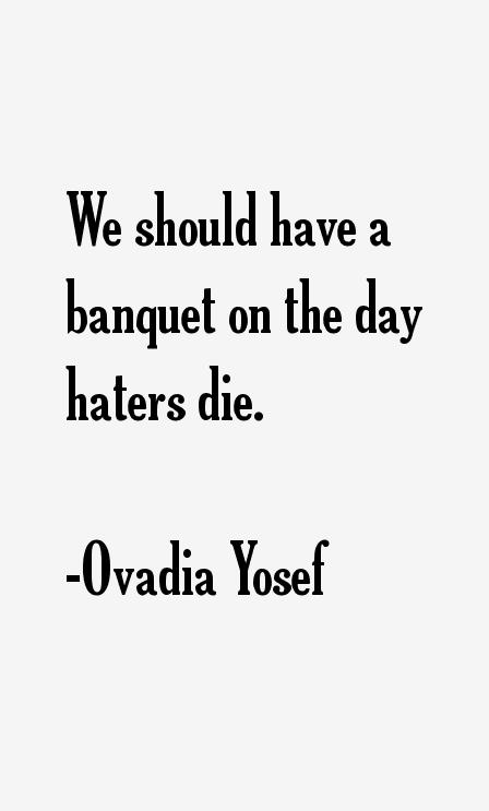 Ovadia Yosef Quotes