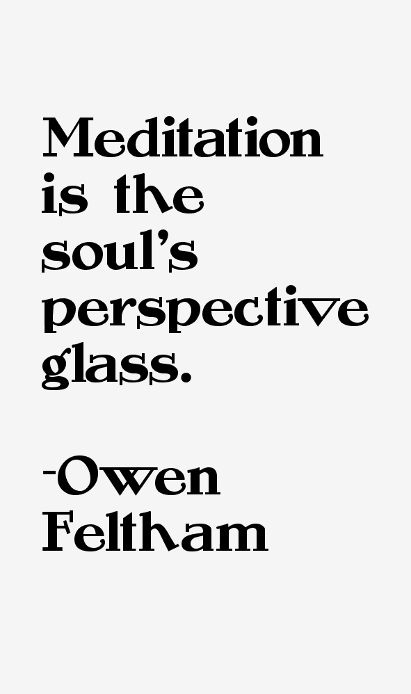 Owen Feltham Quotes