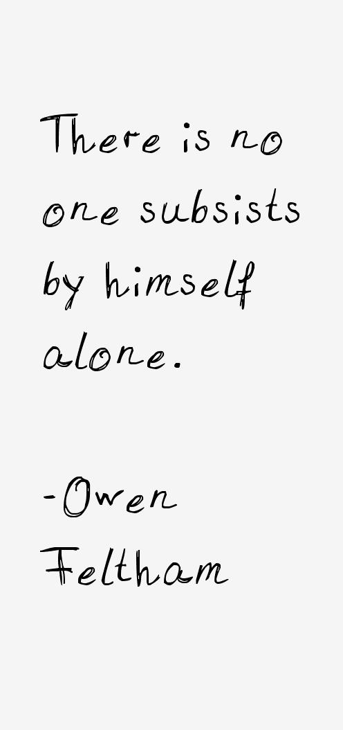 Owen Feltham Quotes