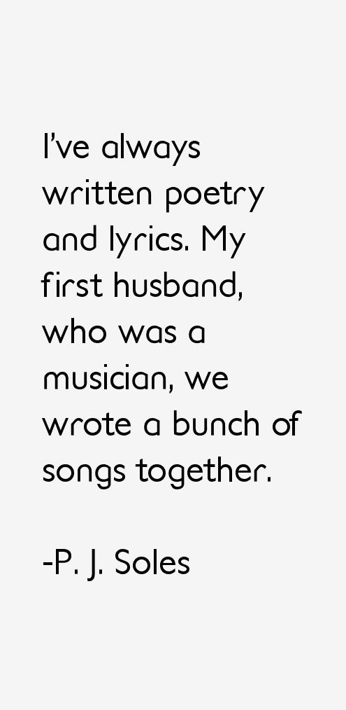 P. J. Soles Quotes