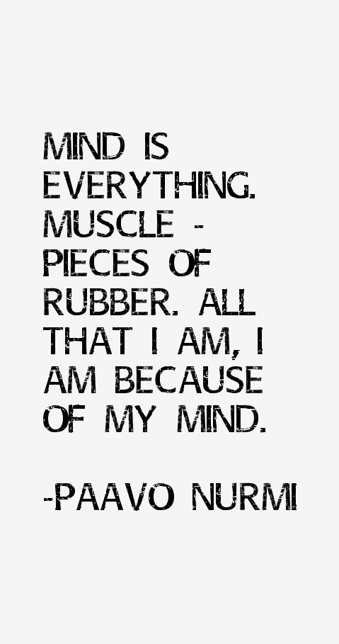 Paavo Nurmi Quotes