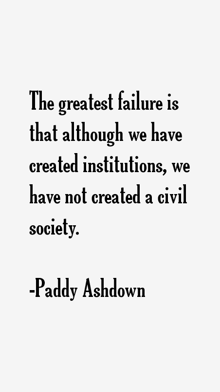 Paddy Ashdown Quotes