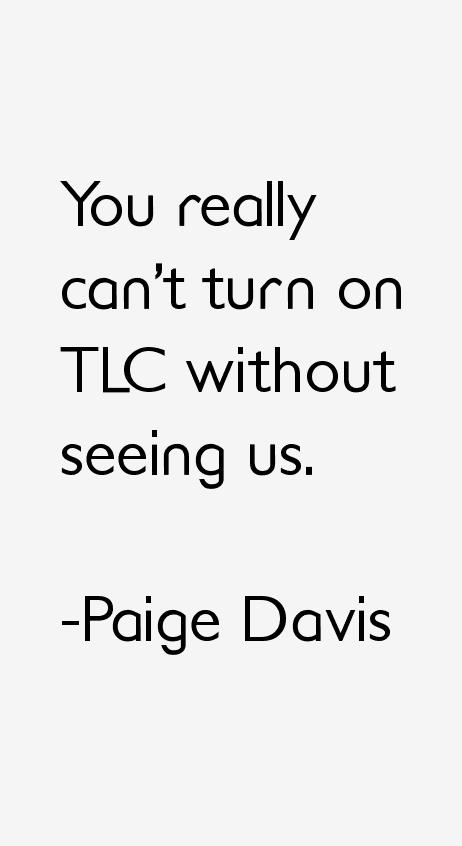 Paige Davis Quotes