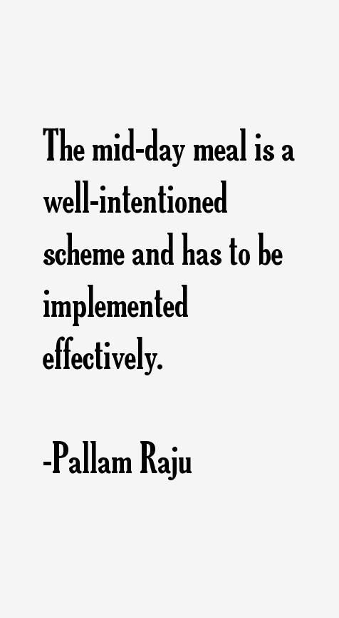 Pallam Raju Quotes