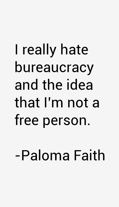 Paloma Faith Quotes