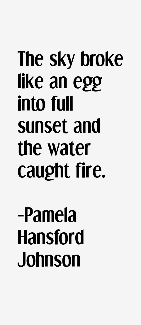Pamela Hansford Johnson Quotes