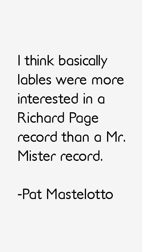 Pat Mastelotto Quotes