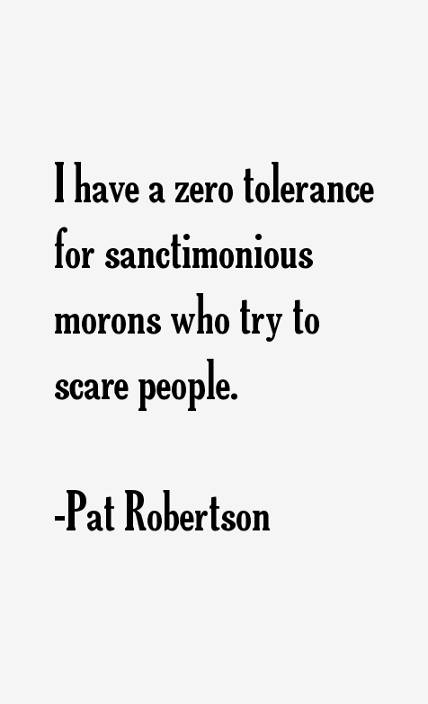 Pat Robertson Quotes