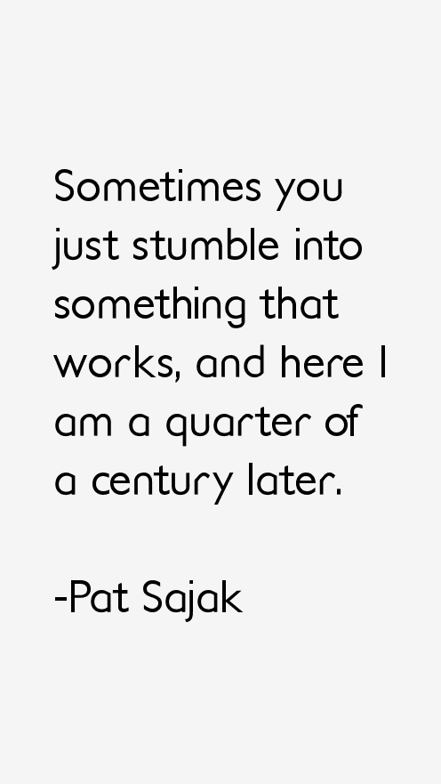 Pat Sajak Quotes