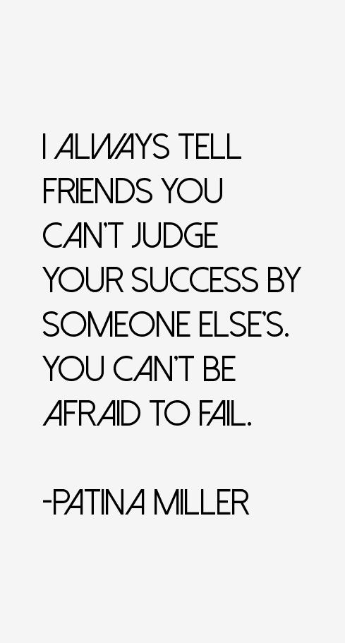 Patina Miller Quotes