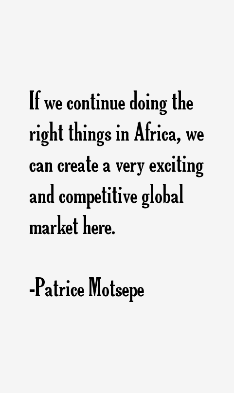 Patrice Motsepe Quotes
