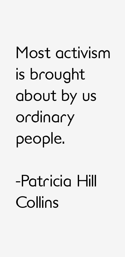 Patricia Hill Collins Quotes