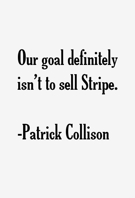 Patrick Collison Quotes