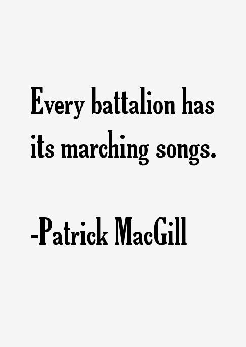 Patrick MacGill Quotes