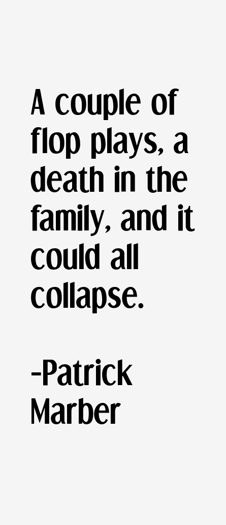 Patrick Marber Quotes