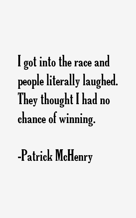 Patrick McHenry Quotes