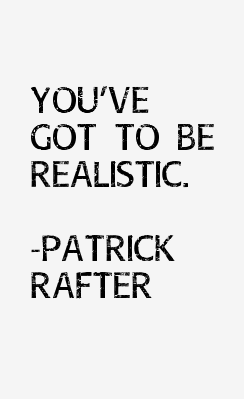 Patrick Rafter Quotes