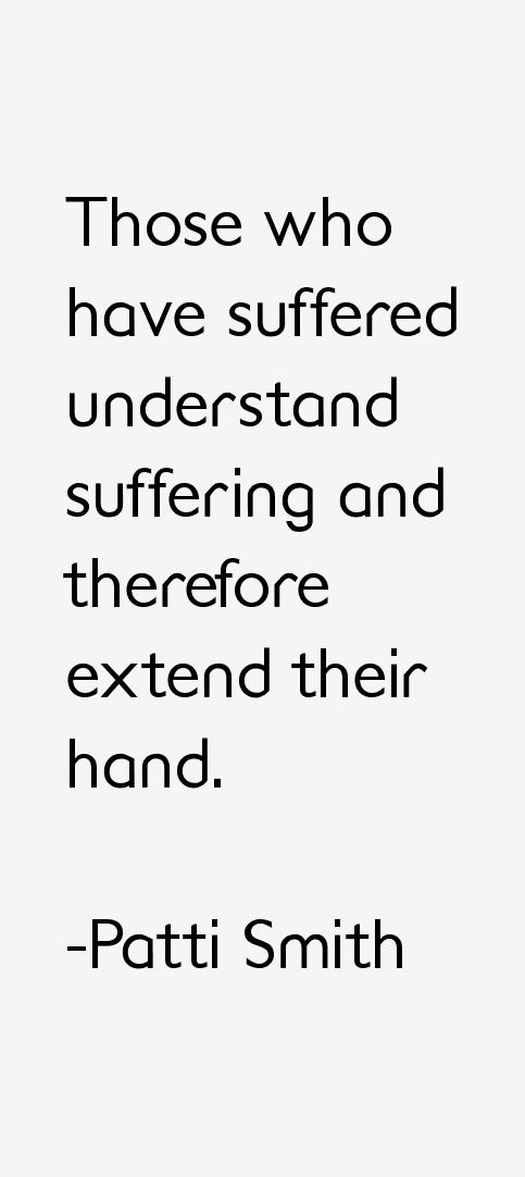 Patti Smith Quotes