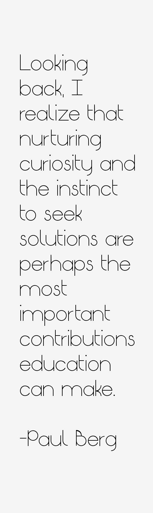 Paul Berg Quotes