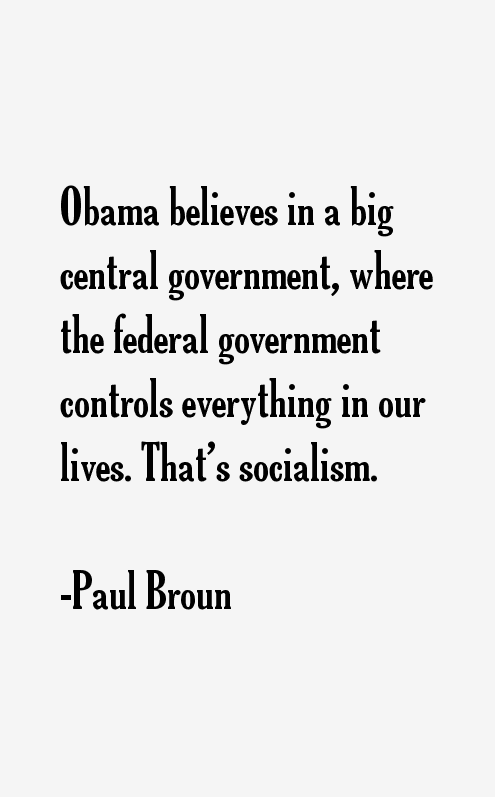 Paul Broun Quotes