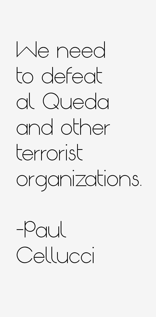 Paul Cellucci Quotes