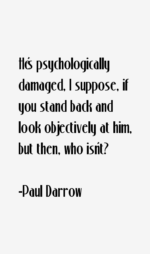 Paul Darrow Quotes