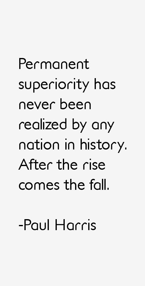 Paul Harris Quotes