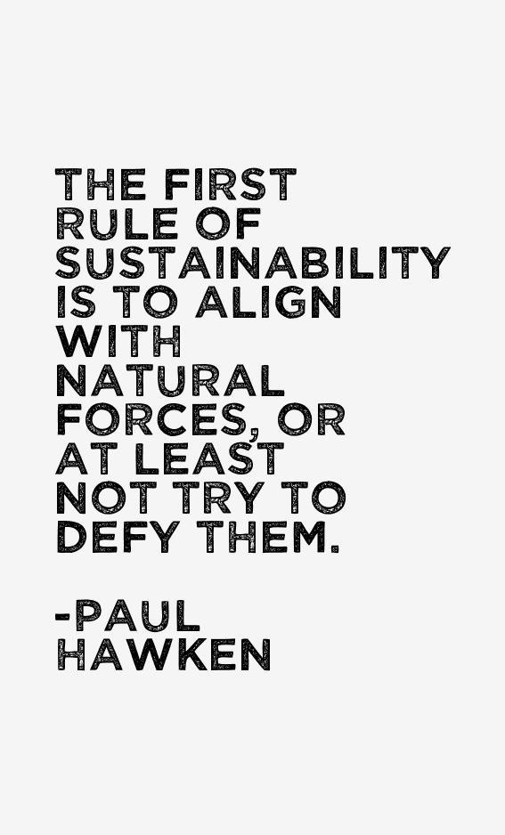 Paul Hawken Quotes