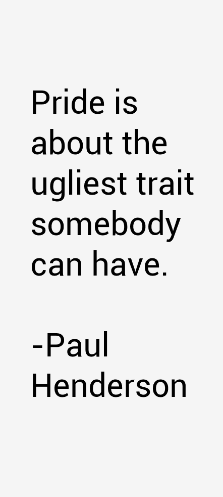 Paul Henderson Quotes
