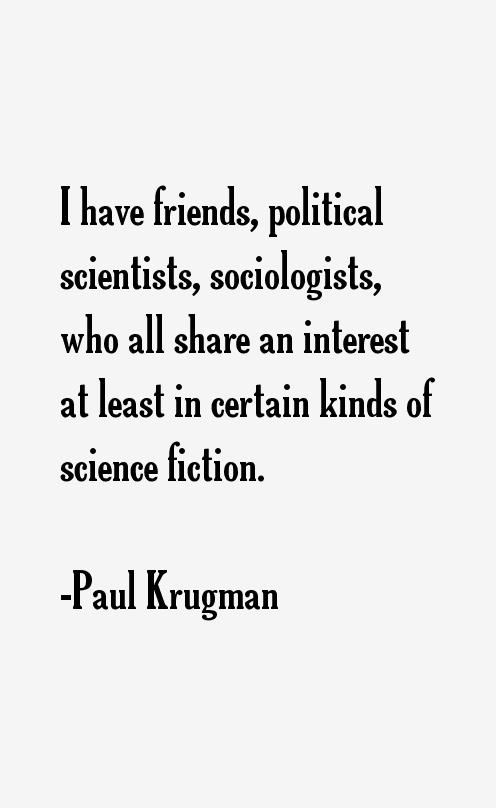 Paul Krugman Quotes