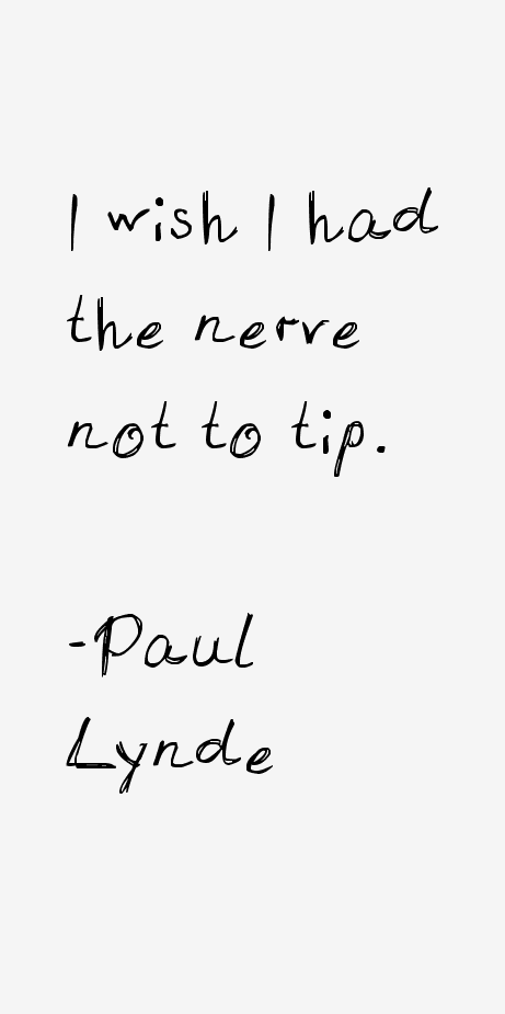 Paul Lynde Quotes
