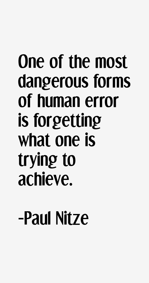 Paul Nitze Quotes