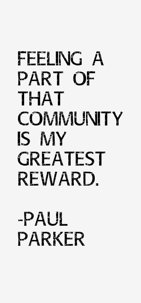 Paul Parker Quotes
