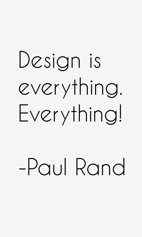Paul Rand Quotes