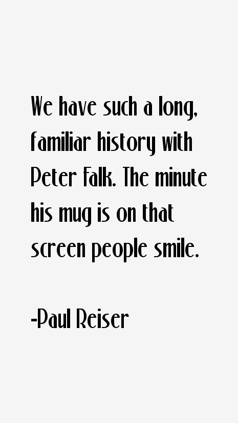 Paul Reiser Quotes