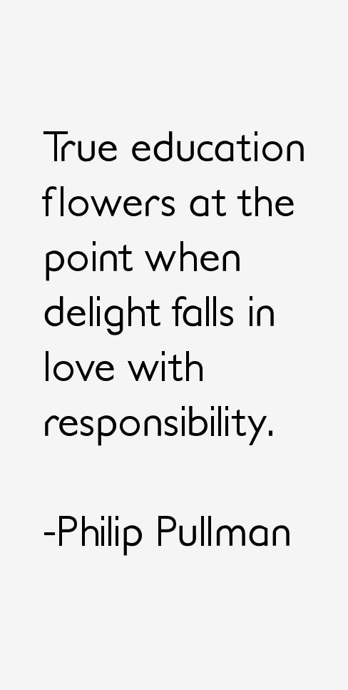 Philip Pullman Quotes