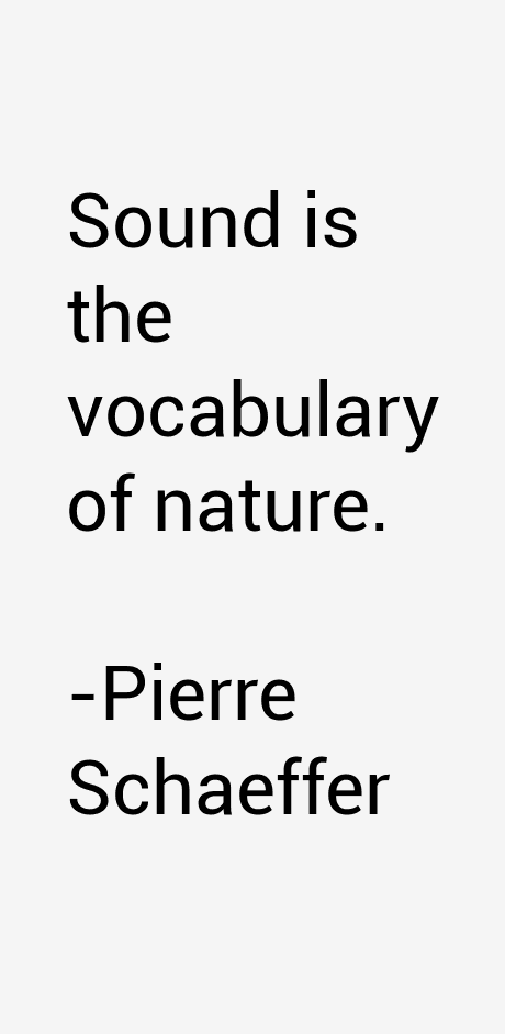 Pierre Schaeffer - Pierre Schaeffer : Paroles D'Homme