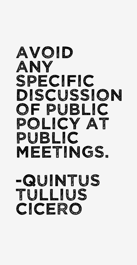 Quintus Tullius Cicero Quotes