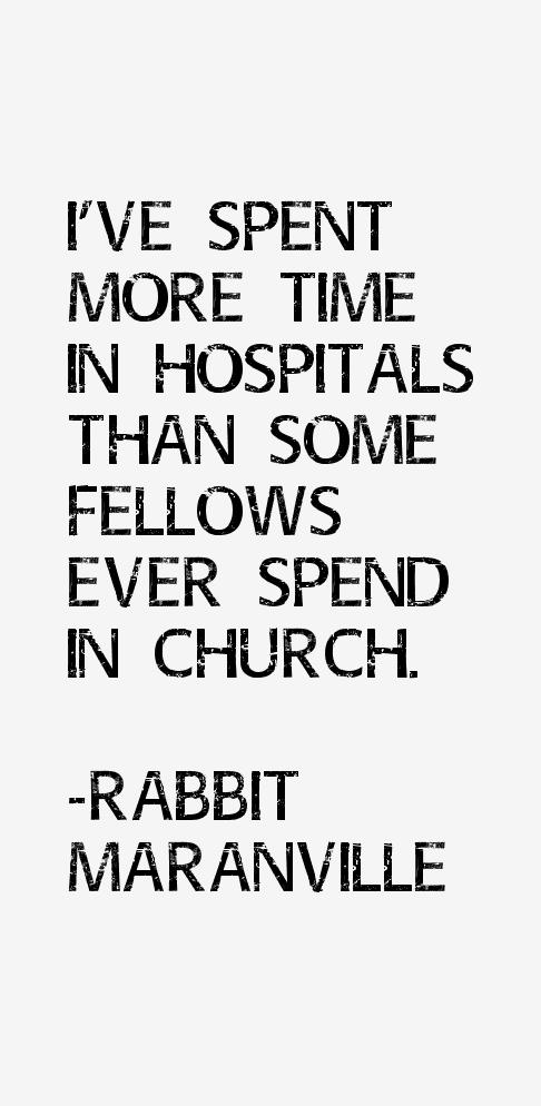 Rabbit Maranville Quotes