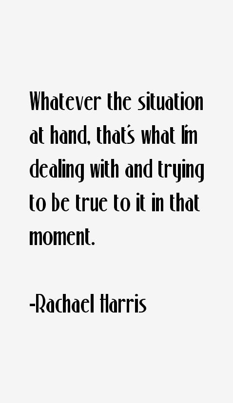 Rachael Harris Quotes