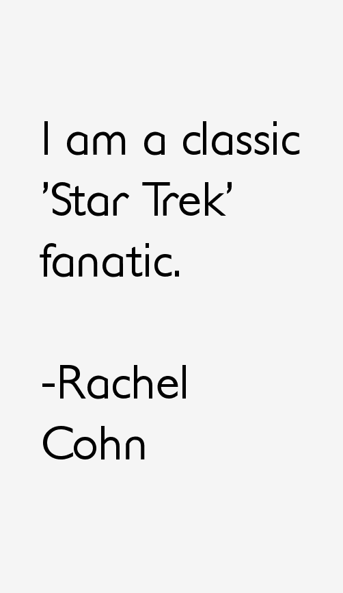 Rachel Cohn Quotes