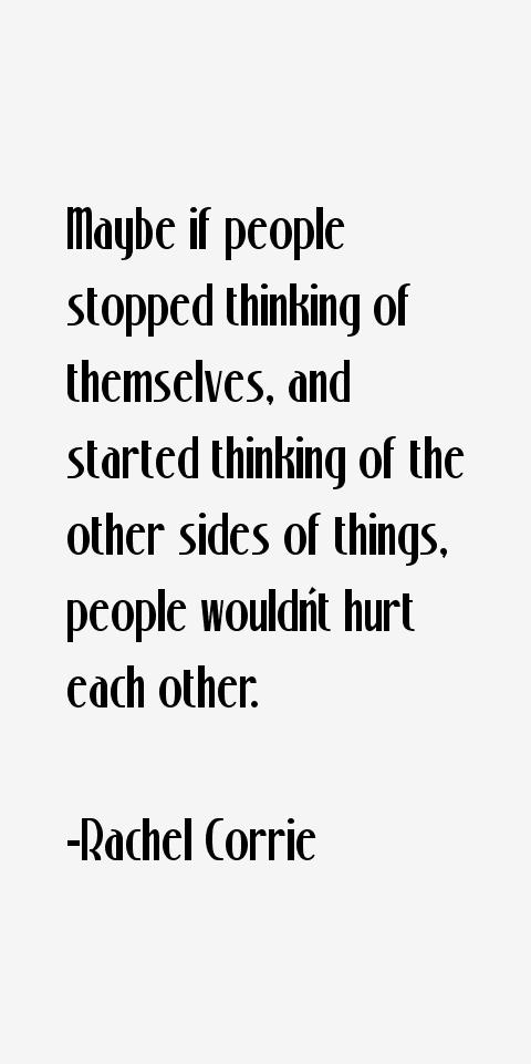 Rachel Corrie Quotes